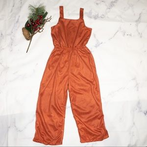 Bailey's Blossom | Button back suede jumpsuit 5T